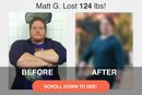 How Matt G. Lost 124 Pounds