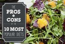 PROs and CONs of the 10 Most Popular Diets