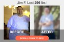 Jim F.'s Amazing 300-Pound Weight Loss With the Help of MyPlate