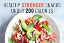 Healthy STRONGER Snacks Under 200 Calories
