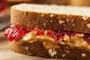 How Many Calories in a Peanut Butter & Jam Sandwich?