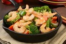 Calories in Chinese Food With Shrimp & Broccoli