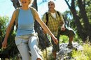 The Calories Burned on 2-Mile Hikes