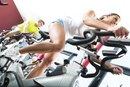 How to Get Thin Thighs With Bicycle Exercise