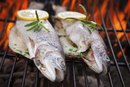 How to Grill Trout with Skin and Lemon Juice