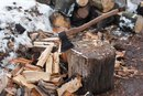 Wood Splitting for Exercise