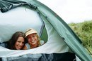 Tent Camping in Galveston, Texas