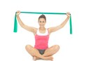 Exercises with a Resistance Band for a Frozen Shoulder