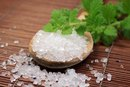 How to Make Your Own Sea Salt Peppermint Scrub