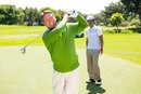 How to Keep the Right Leg Bent in a Golf Swing