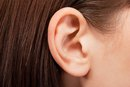 Dry Skin on Earlobe