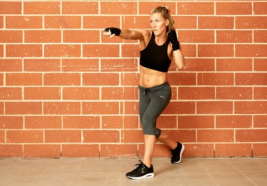 A 28-Minute Boxing Workout for Sexy Arms and Shoulders