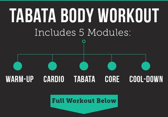 A 20-Minute Metabolism-Boosting Tabata Workout