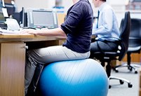 Does an Exercise Ball Chair Actually Giv…