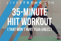A 35-Minute HIIT Workout That Won't Hurt…