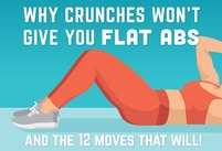 Why Crunches Won't Give You Flat Abs -- …
