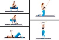 The Only 5 Exercises Women Need to Get L…