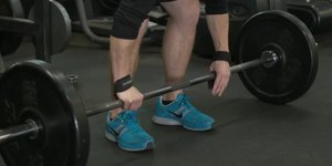 Deadlifts With Wrist Straps