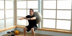Exercises With Anti-Burst Balls