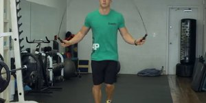 Beginning Boxing Jump Rope Routine