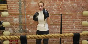 Exercises With Boxing Pads
