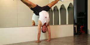 How to Do a Side Handstand