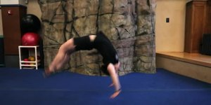 How to Do a Back Handspring Without Being Sca…