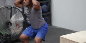 Squat Jumps for Calves