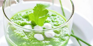 Delicious Cold Minted Pea Soup Recipe