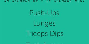 Wednesday Workout: 10-Minute, Total-Body, No-…