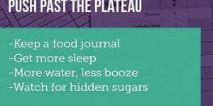 10 Tips to Push Past a Weight-Loss Plateau