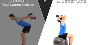 10 Upper-Body Exercise Swaps to Amp Up Result…