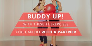 Buddy Up With These 11 Exercises You Can Do W…