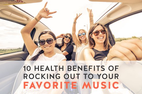 10 Health Benefits of Rocking Out to Your Favorite Music