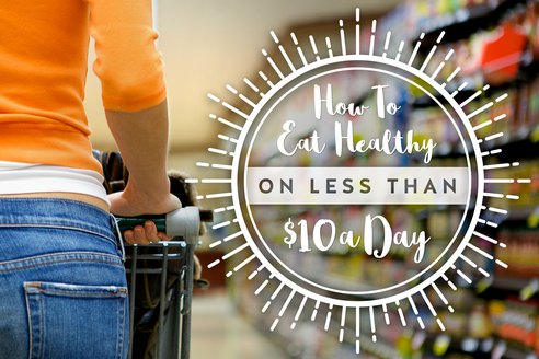 How to Eat Healthy for Less Than $10 a Day