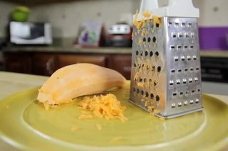 How to Grate a Sweet Potato