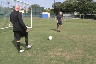 How to Do a Heel Kick in Soccer