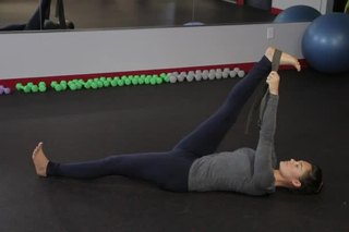 How to Get Your Front Leg Down During the Splits