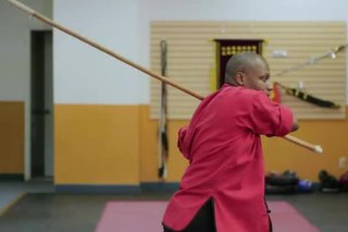 How to Do Kung Fu Staff Swings