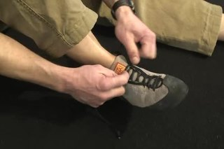 Rock Climbing Shoelace vs. Velcro