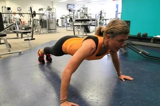 How to Do a Three-Point Push-Up