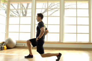 Exercise for the Legs Without Objects or Machines