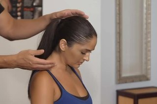 Exercises & Stretches for Neck Pain With a Therapy Desk