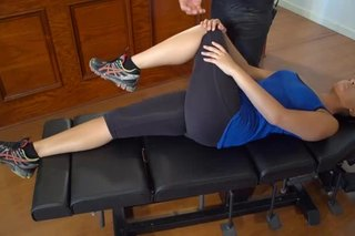 Stretching a Chief Joint Hip Abductor
