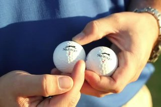 The Difference in Golf Ball Numbers