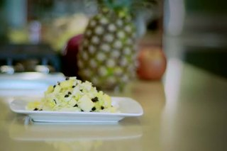 Cabbage, Apple & Pineapple Salad