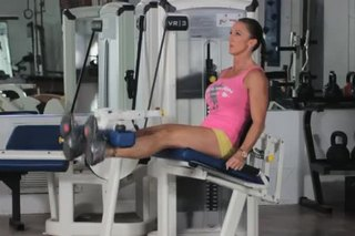 Thigh Flexion & Leg Extensions