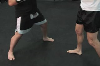 Kickboxing Stance for Dominant Hands