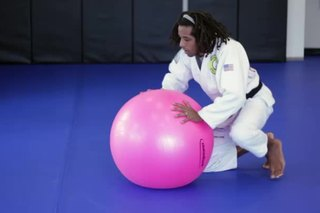 Stability Ball for Jiu-Jitsu