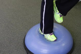 Ankle Strengthening Exercises With a Balance Ball